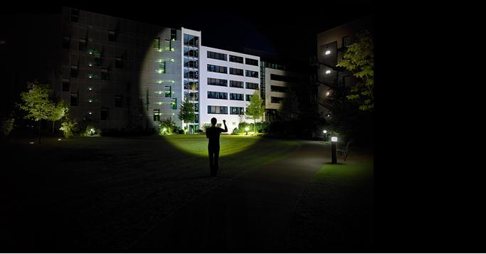 Led lenser m7r pro lampe torche rechargeable 400 lumens - Lampe torche longue portee rechargeable ...