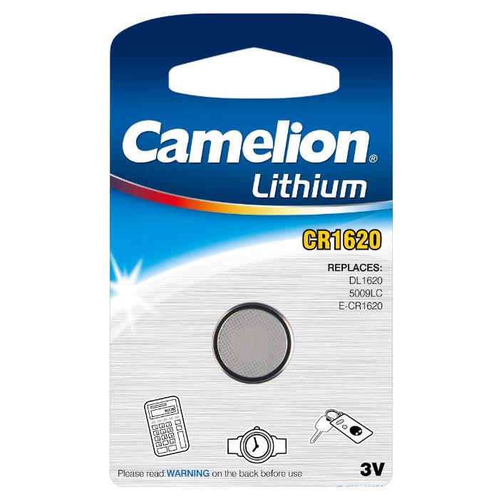 pile bouton lithium camelion cr1620 dl1620 5009lc e. Black Bedroom Furniture Sets. Home Design Ideas