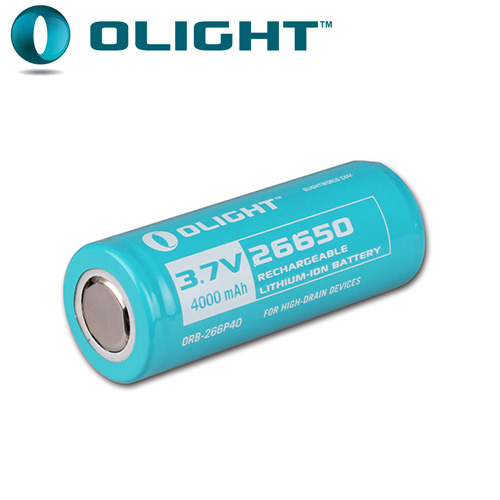 Batterie Olight 26650 - 4000mAh 3.7V  Li-ion