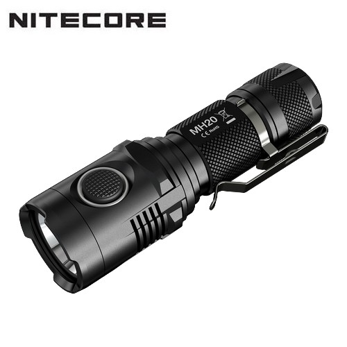 Lampe torche nitecore mh20 1000lumens rechargeable par usb - Lampe torche longue portee rechargeable ...