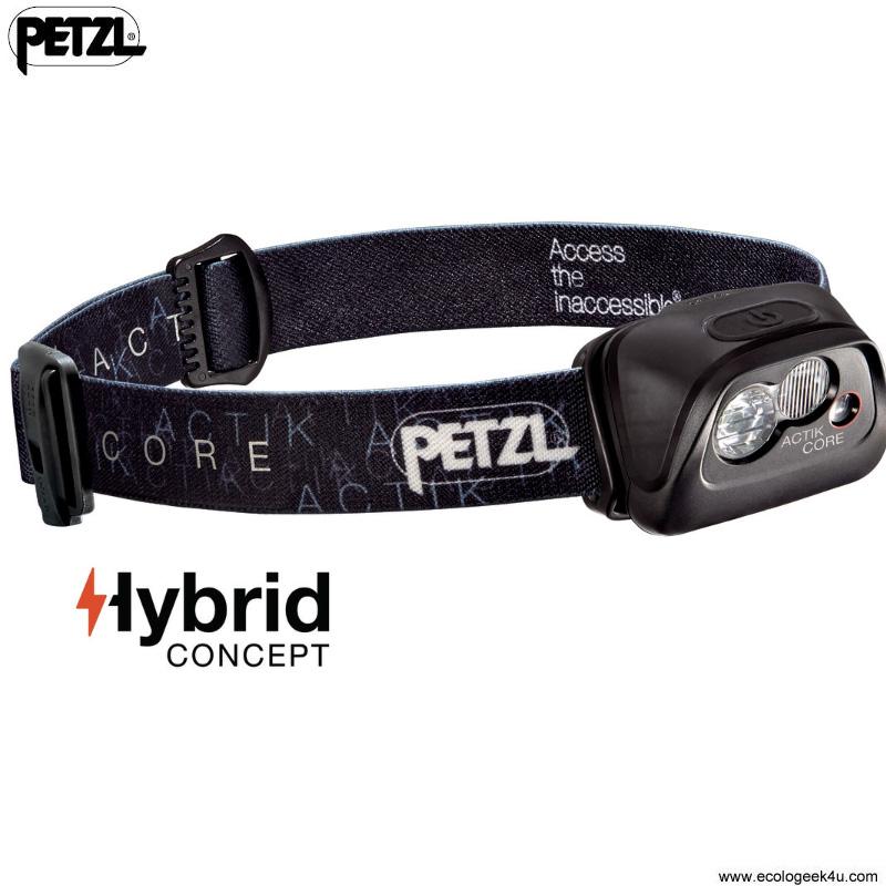 Nouvelle frontale Petzl Actik avec batterie USB amovible 59602