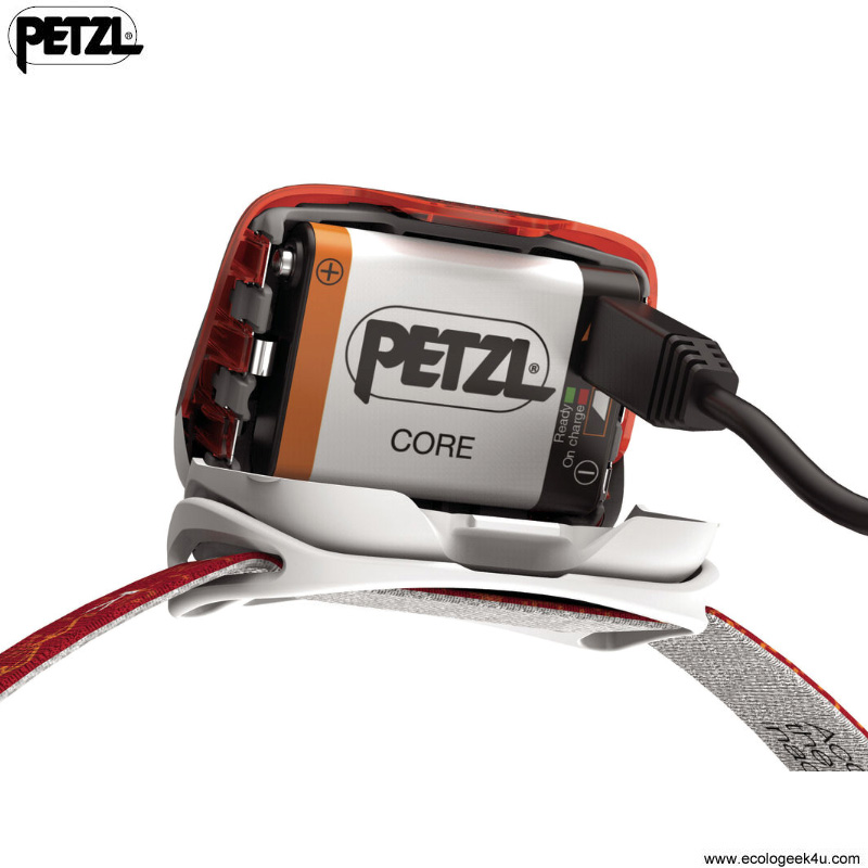 lampe frontale petzl actik core 350lumens rechargeable usb pour le sport running course pied. Black Bedroom Furniture Sets. Home Design Ideas