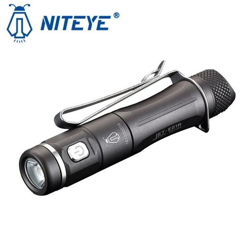 Lampe de poche niteye jet e01r 138lumens rechargeable en micro usb lampe torche edc haute - Lampe torche rechargeable ...