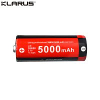 Batterie Klarus 26650 - 5000mAh Li-ion 3.7V Button Top