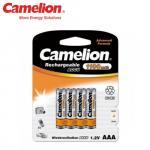 Pack de 4 accus rechargeables Camelion LR03 1100mAh Ni-MH