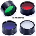 Nitecore filtres diamètre de 25mm