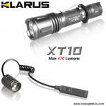 Lampe Torche Klarus XT10 - 820Lumens + bouton déporté TR10