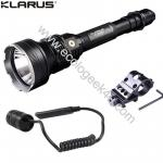 Lampe Torche Klarus XT30R - Kit airsoft - 1800Lumens