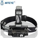 Lampe Frontale Niteye HR30 - 950Lumens rechargeable USB-C
