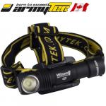 Lampe frontale Armytek Wizard Magnet XP-L 1250 Lumens rechargeable USB