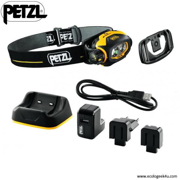 Lampe Frontale Petzl Pixa 3r Atex Rechargeable Et Parametrable