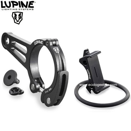 Support guidon Lupine BETTY R + support télécommande
