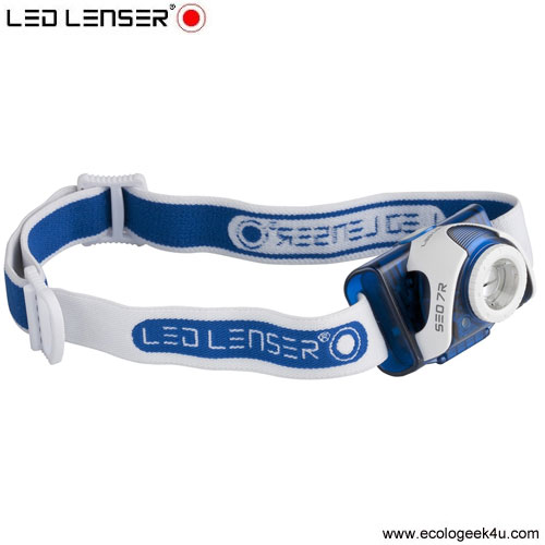 Lampe Frontale Led Lenser SEO7R Rechargeable 220lumens  + Focus