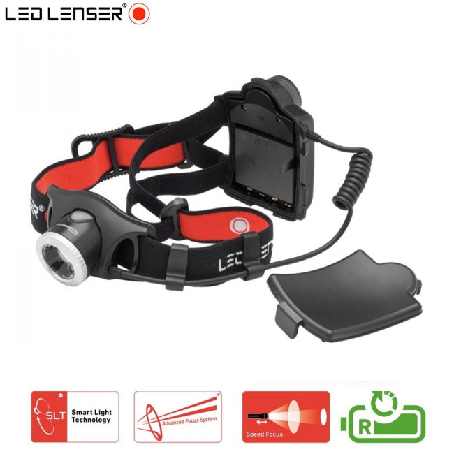 led lenser h7r 2 pro lampe frontale rechargeable 300 lumens. Black Bedroom Furniture Sets. Home Design Ideas
