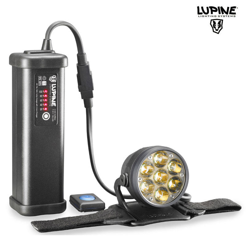 Lampe VTT Lupine BETTY R14 - 5000Lumens