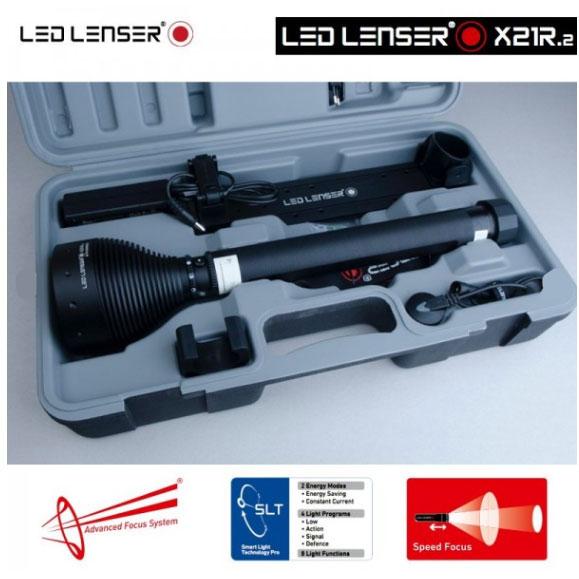 Lampe Torche Led Lenser X21r 2 3200lumens Ultra Puissante Longue Portee