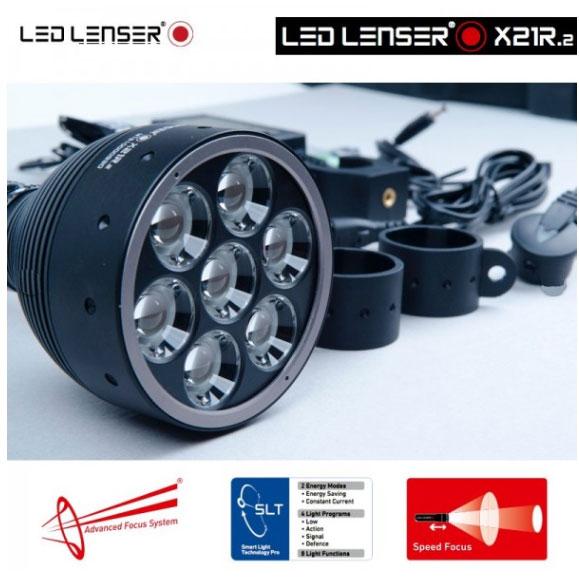 lampe torche led lenser x21r 2 3200lumens ultra puissante longue port e. Black Bedroom Furniture Sets. Home Design Ideas