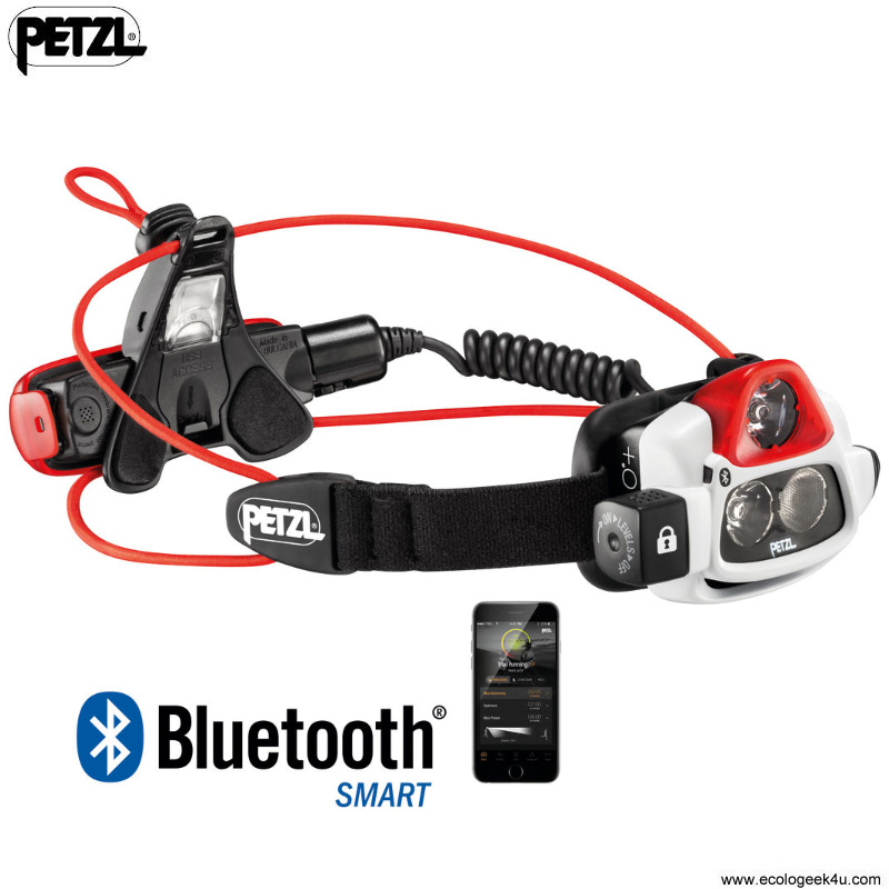 Lampe Frontale Petzl NAO+ 750Lumens Bluetooth