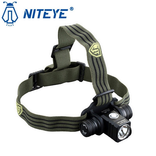 Lampe Frontale Rechargeable Niteye Hr25 1180lumens Trail Nocturne