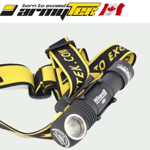 Lampe Frontale Trail Running Armytek Wizard Pro Magnet Usb Xhp50
