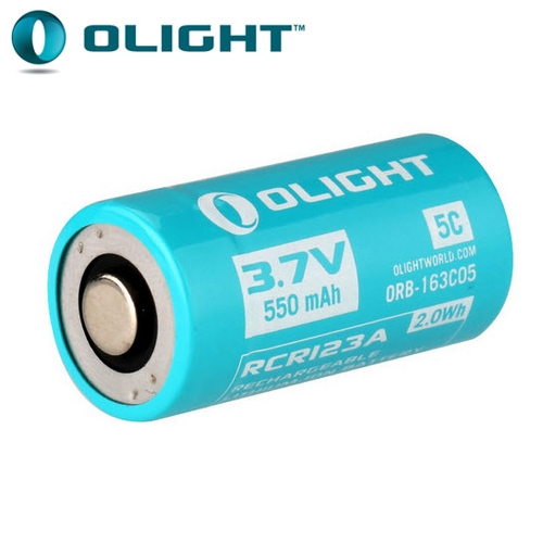 Batterie Olight 16340 5C -550mAh 3.7V IMR