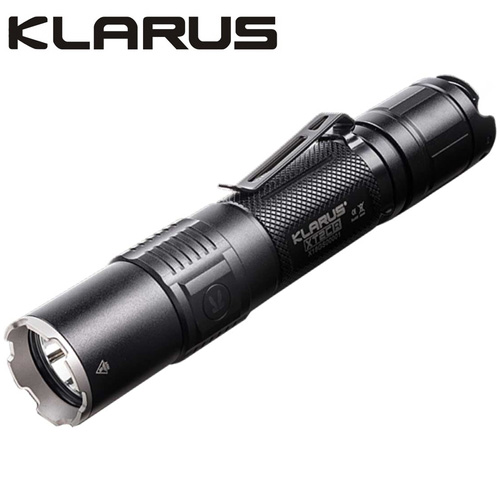lampe torche tactique klarus xt2cr 1600lumens rechargeable usb ultra puissante gendarmerie. Black Bedroom Furniture Sets. Home Design Ideas