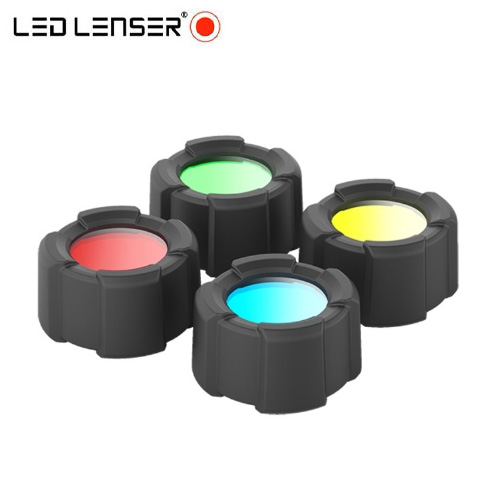 Lot 4 filtres Led Lenser 39 mm pour lampe MT14