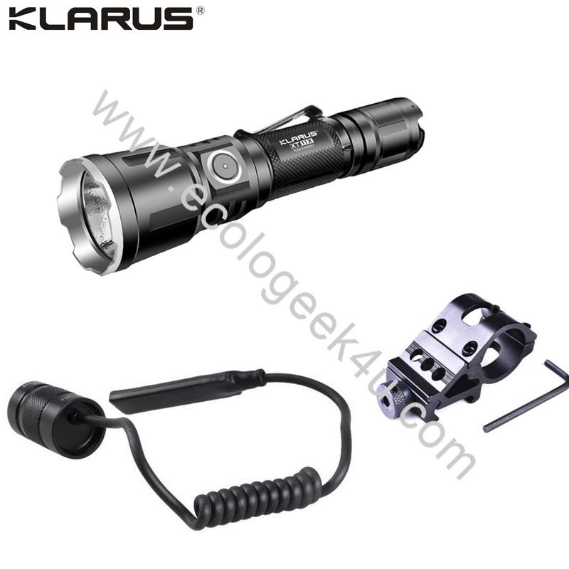 Torche Klarus Kit Tactique Xt11x Lampe 3200lumens Airsoft I6yb7gfmvY