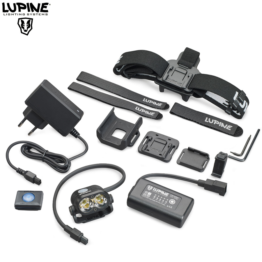 Lampe Lupine Piko All in One 1900 Lumens, frontale et VTT