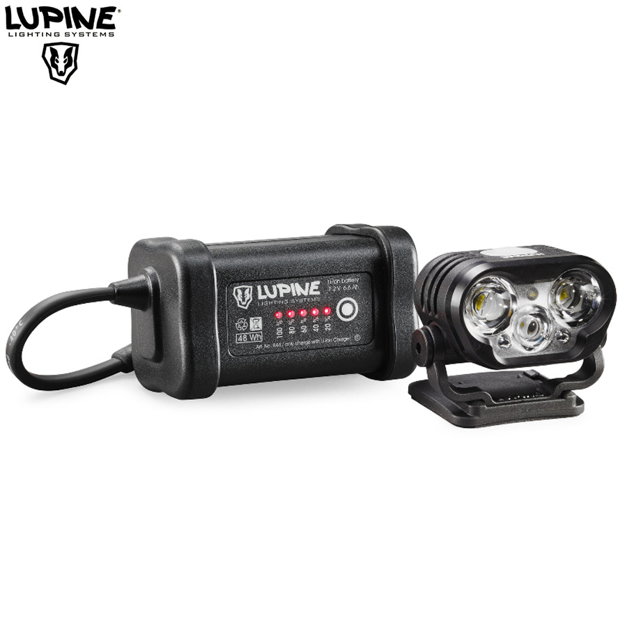 Lampe Télécommande 2100 Vtt Lupine Sc Bluetooth Blika Lumens R7 Avec PukOZXi