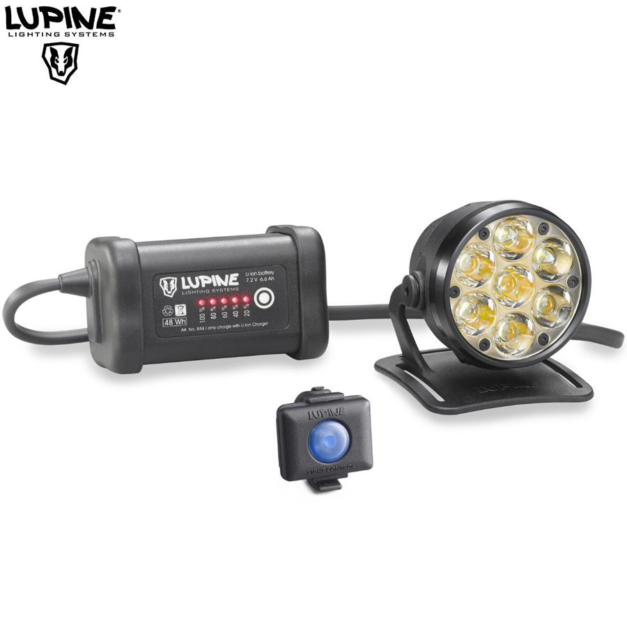 Lampe VTT Lupine BETTY R7 - 5000Lumens