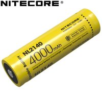 Batterie Nitecore NL2140 4000mAh 3.6V li-ion protégée - 14.4Wh