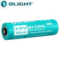 Batterie Olight 21700 - 5000mAh ORB-217C50 - 3.6V protégée Li-ion