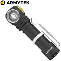 Lampe frontale Armytek Wizard C2 PRO 2500Lumens - rechargeable en USB - Warm Light