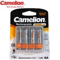 Pack de 4 accus rechargeables Camelion LR06 2700mAh Ni-MH