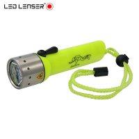 Lampe de plongée Frogman Led Lenser D14 + 4 piles AA Offertes