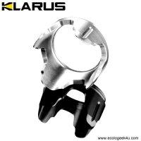 Lunette crénelée Klarus BZ1 Pour lampe XT11, XT11S, XT11GT, XT12, XT12S et RS11