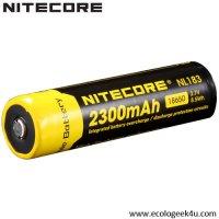 Batterie Nitecore NL1823 18650 - 2300mAh 3.7V protégée Li-ion