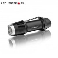 Lampe de poche Led Lenser F1 400Lumens + 1 pile CR123A Offerte