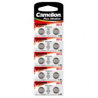 Piles AG13 Camelion 1.5V pack de 10 piles