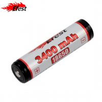 Batterie EFEST 18650 - 3400mAh 3.7V protégée Li-ion (panasonic)
