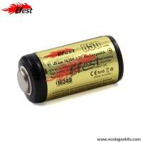 Batterie Efest 16340 - 850mAh 3.7V protégée Li-ion