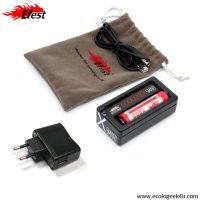 Chargeur Efest Smart USB multifonctions avec chargeur secteur 220V / USB
