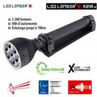 Lampe Torche Led Lenser X21R.2 - Rechargeable - 3200Lumens