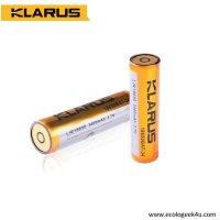 Batterie Klarus 18650 2600mAh Li-ion spécifique lampe Klarus RS11,18,20,XT12,15 et FL18