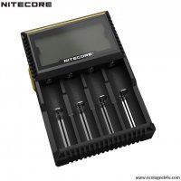 Digichargeur D4 Nitecore Li-ion, IMR, Ni-MH, LiFePO4 et Ni-CD