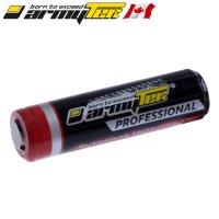 Batterie ARMYTEK 18650 - 3400mAh 3.7V protégée Li-ion Panasonic