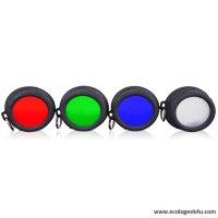 Filtres souples Klarus 35mm pour lampes XT10, XT11, XT11S, XT11GT, XT12, RS11