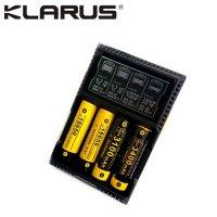 Chargeur Klarus CH4S pour Batteries Li-ion, LiFePO4