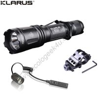 Lampe Torche Klarus XT11 - Kit airsoft - 1060Lumens